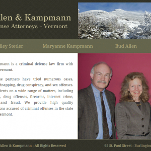 Criminal Defense Vermont